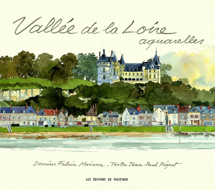 Vallée de la Loire aquarelles