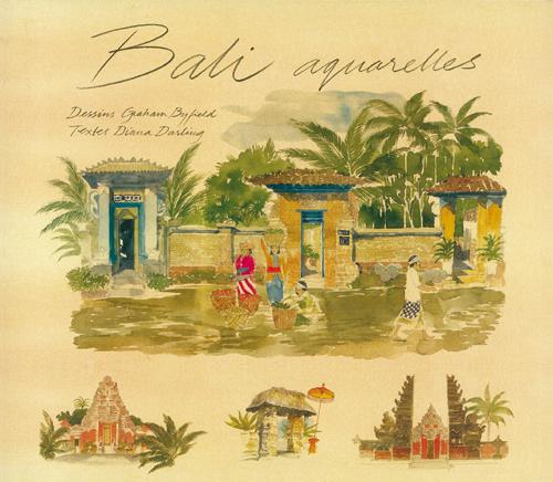 couverture de Bali aquarelles