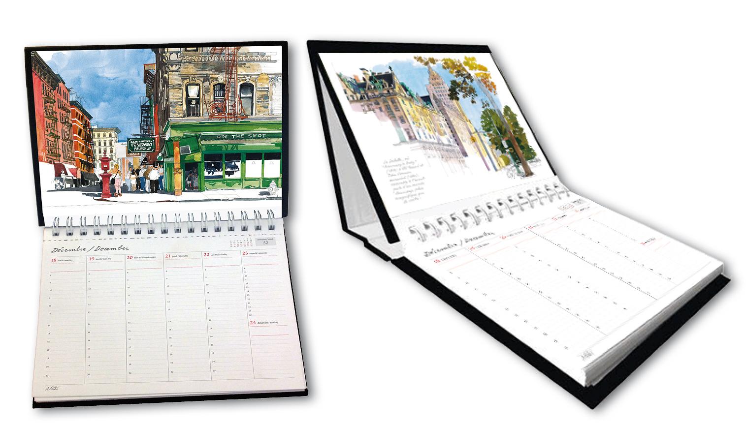 NYC Desk Calendar 2018