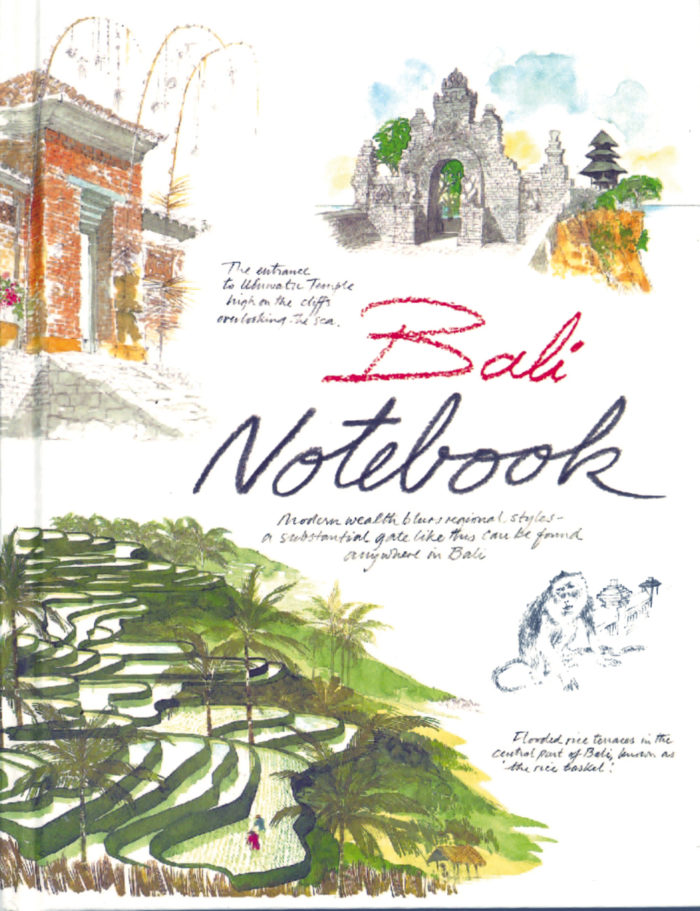 couverture de Bali Notebook