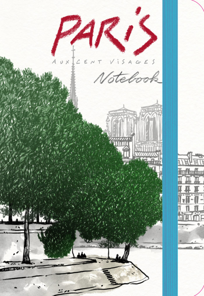 couverture de Paris aux cent visages Notebook