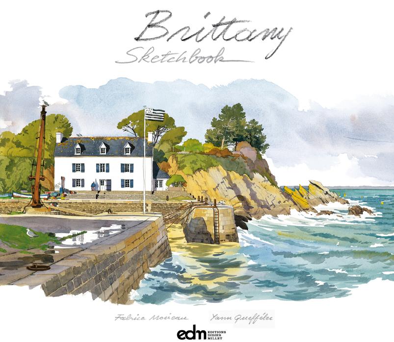 Brittany Sketchbook, Frabrice Moireau, Yann Queffelec