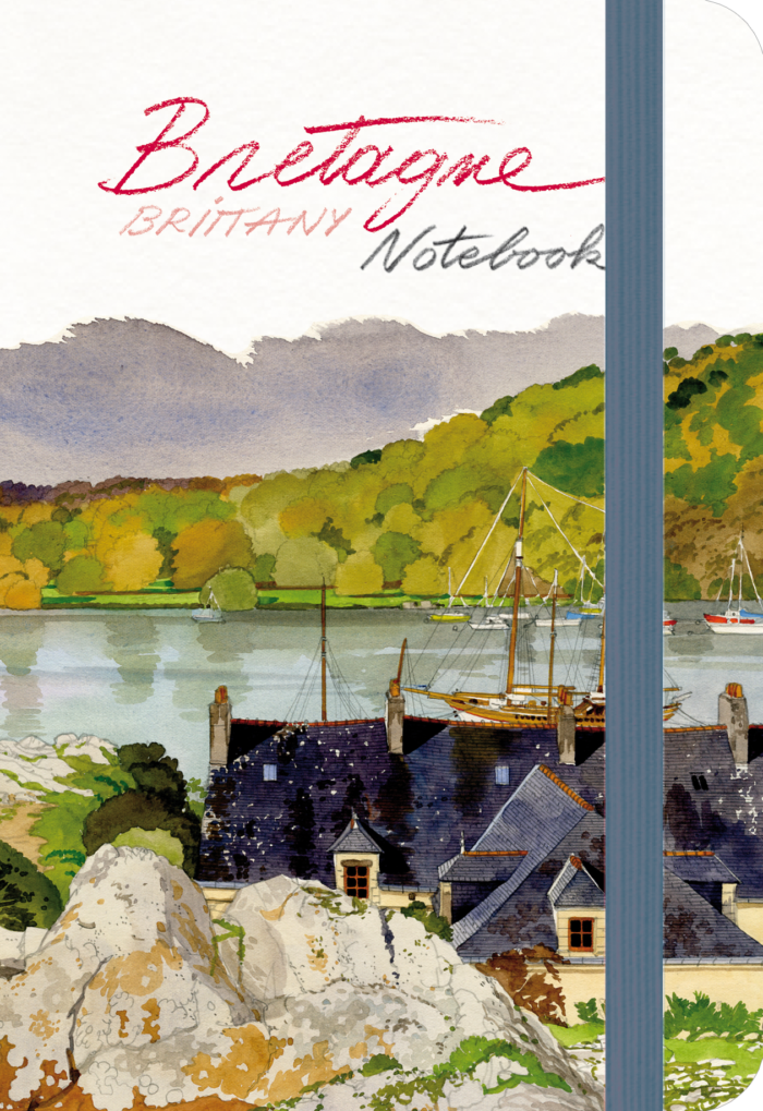 couverture de Bretagne Notebook