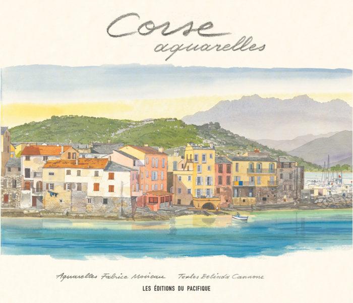 couverture de Corse aquarelles