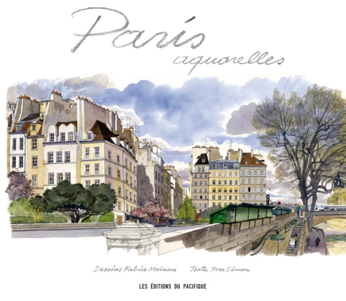 couverture de Paris aquarelles