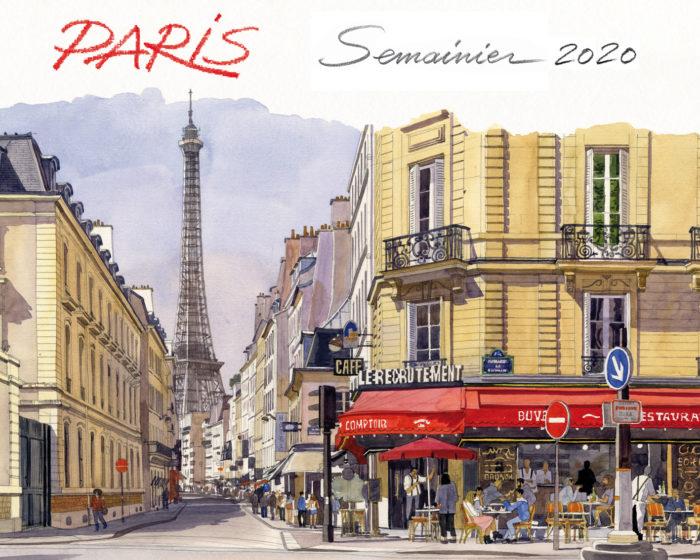 couverture de Semainier Paris 2020