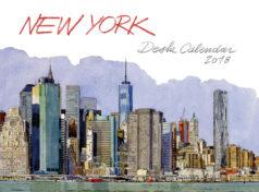 Semainier NYC aquarelles 2018