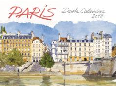 Semainier Paris aquarelles 2018