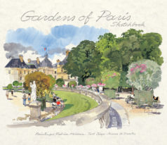 Gardens of Paris Sketchbook