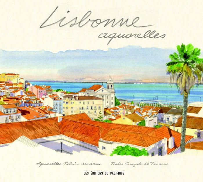 couverture de Lisbonne aquarelles