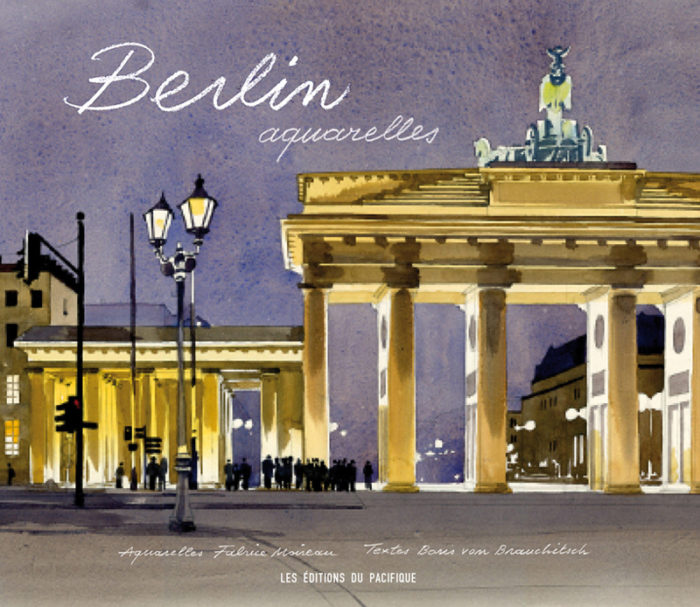 couverture de Berlin aquarelles