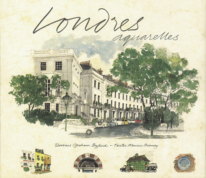 couverture de Londres aquarelles