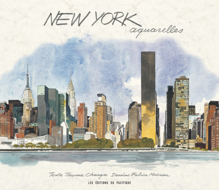 couverture de New York aquarelles