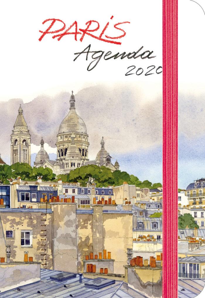 couverture de Agenda Paris 2020