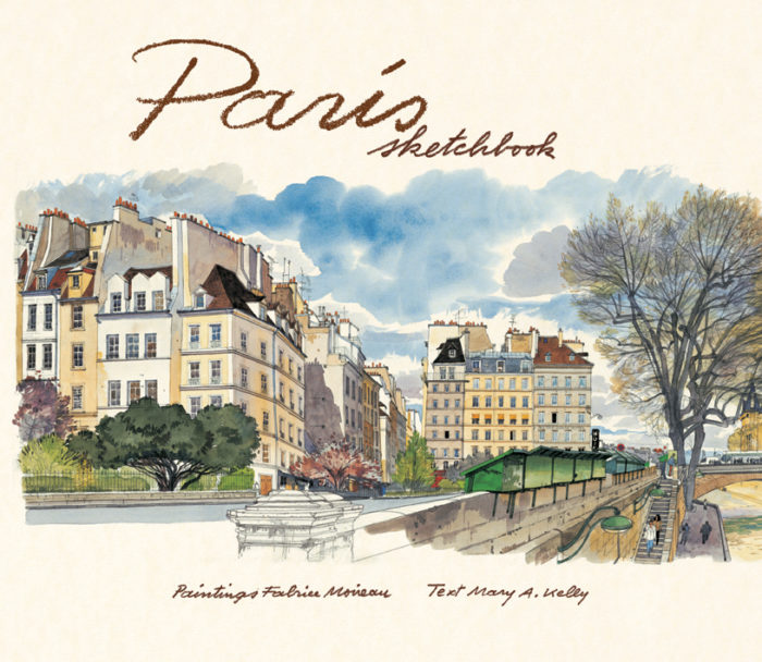 couverture de Paris Sketchbook