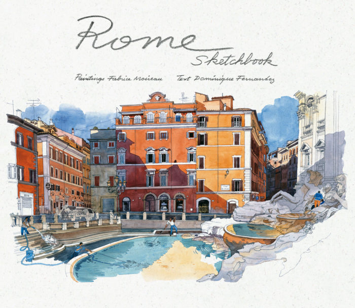 couverture de Rome Sketchbook