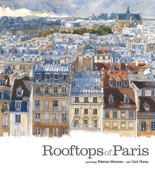 couverture de Rooftops of Paris
