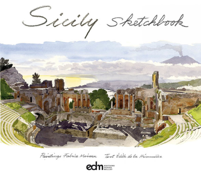 couverture de Sicily Sketchbook