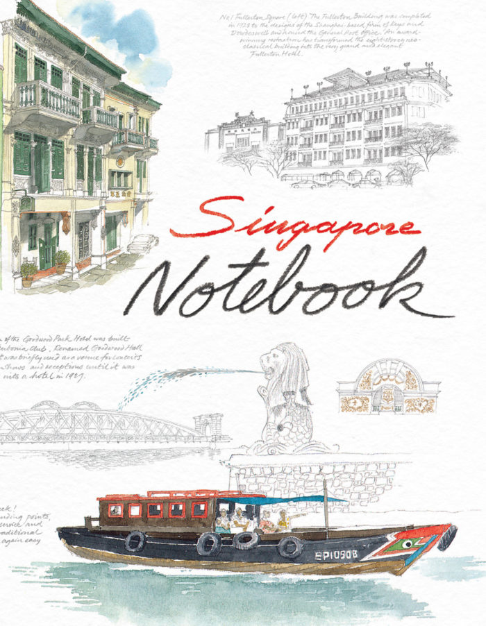 couverture de Singapore Notebook