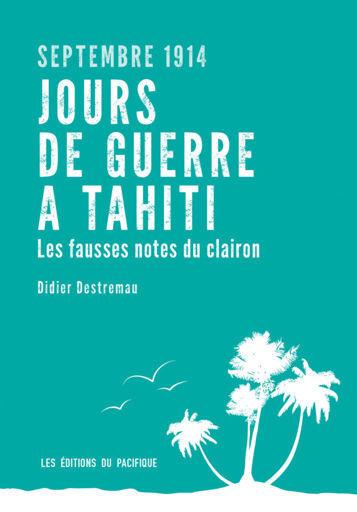 couverture de Jours de guerre à Tahiti