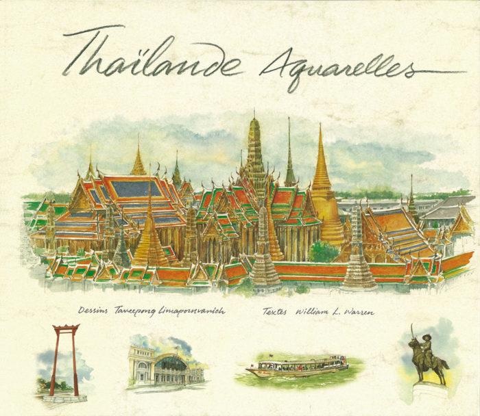 couverture de Thaïlande aquarelles