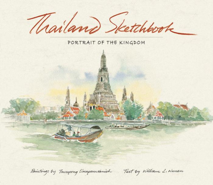 couverture de Thailand Sketchbook