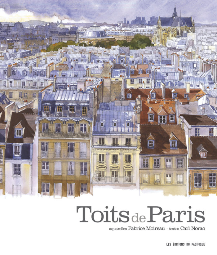 couverture de Toits de Paris