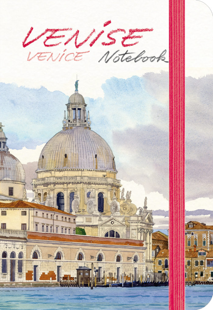 couverture de Venise Notebook