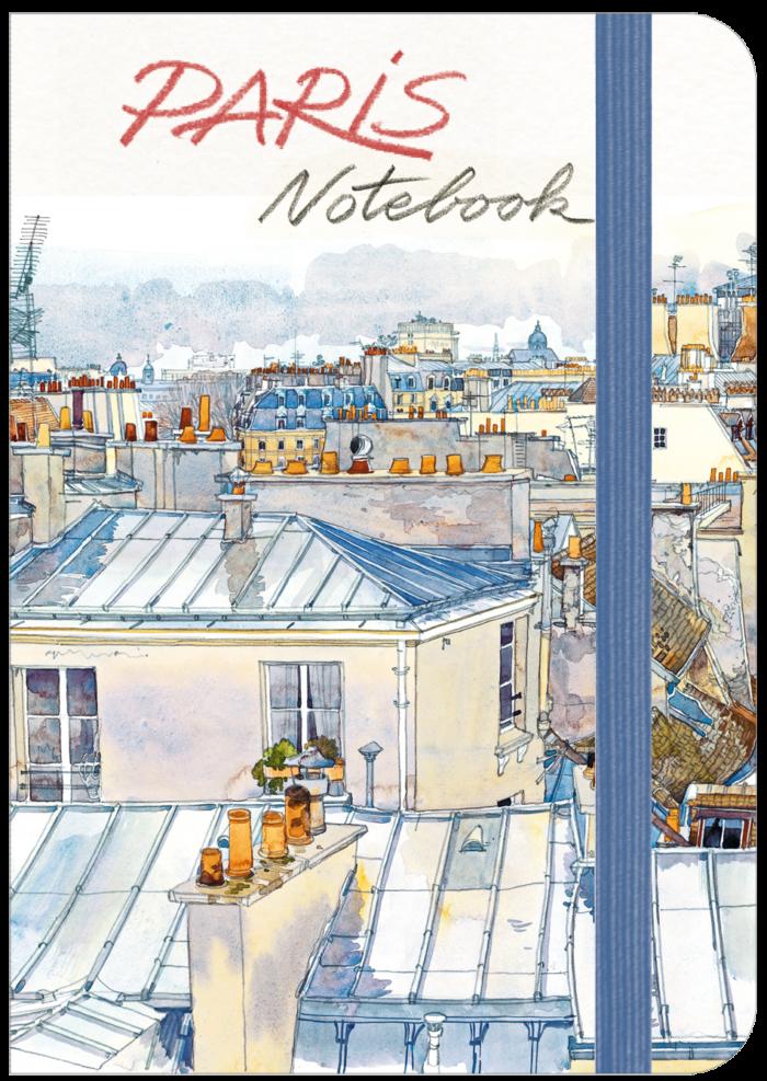 couverture de Paris Notebook