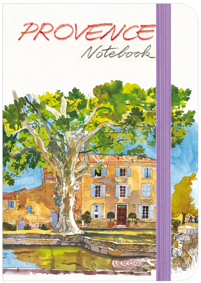 couverture de Provence Notebook