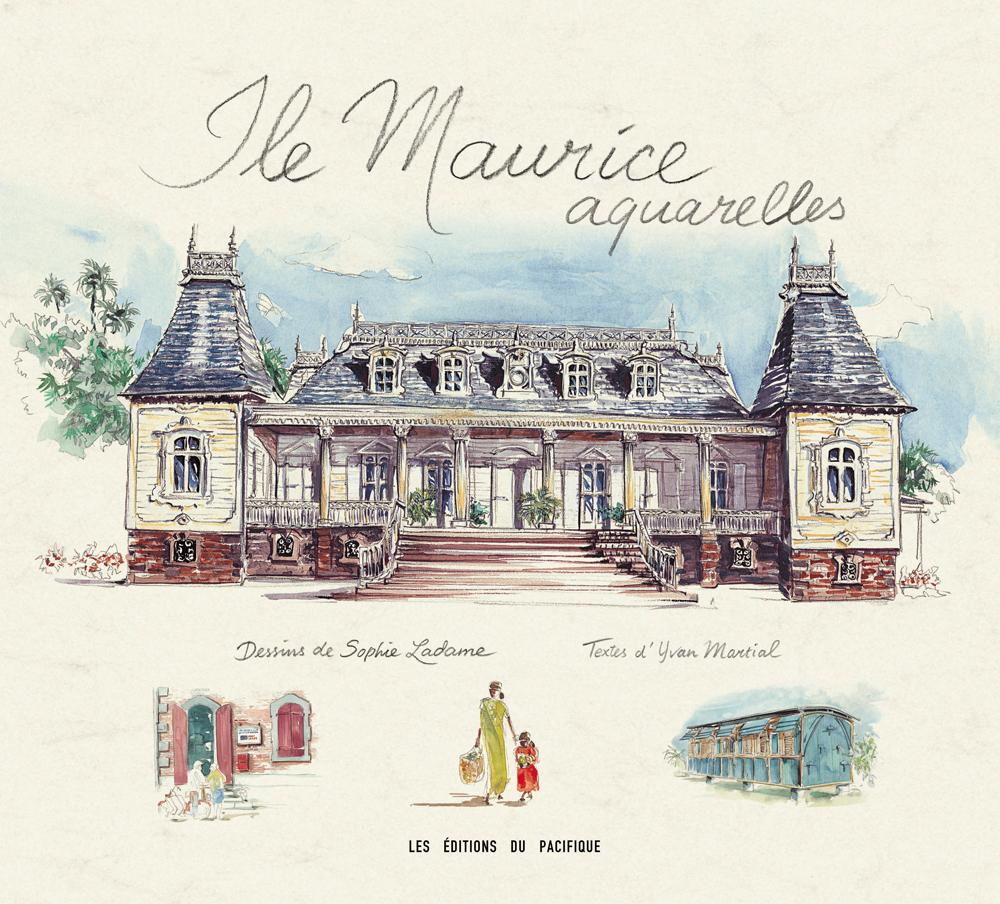 Île Maurice aquarelles