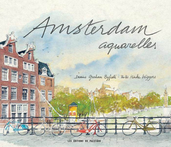 couverture de Amsterdam aquarelles