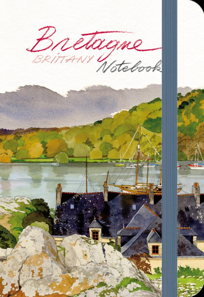 couverture de Bretagne Notebook