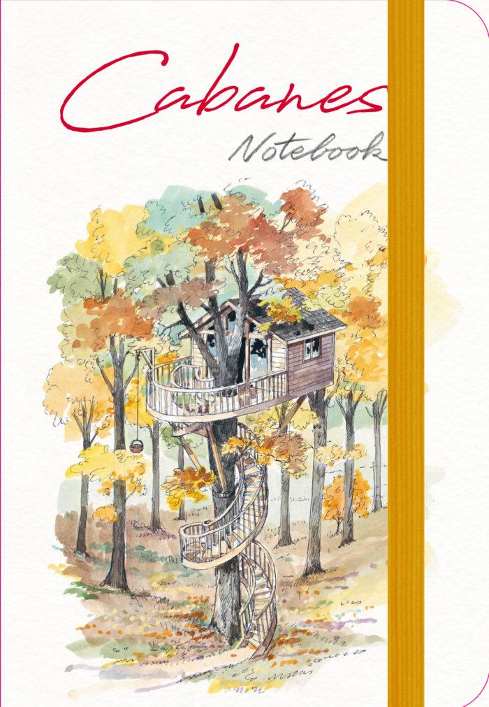 couverture de Cabanes Notebook