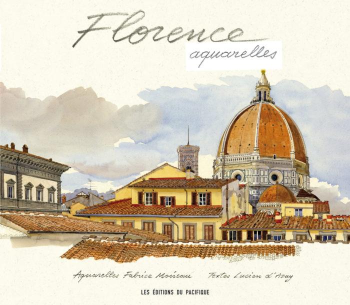 couverture de Florence aquarelles