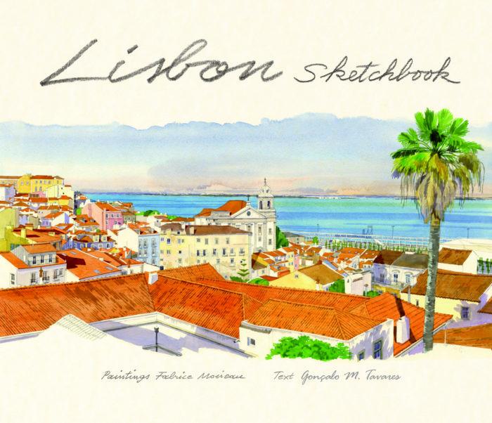 couverture de Lisbon sketchbook