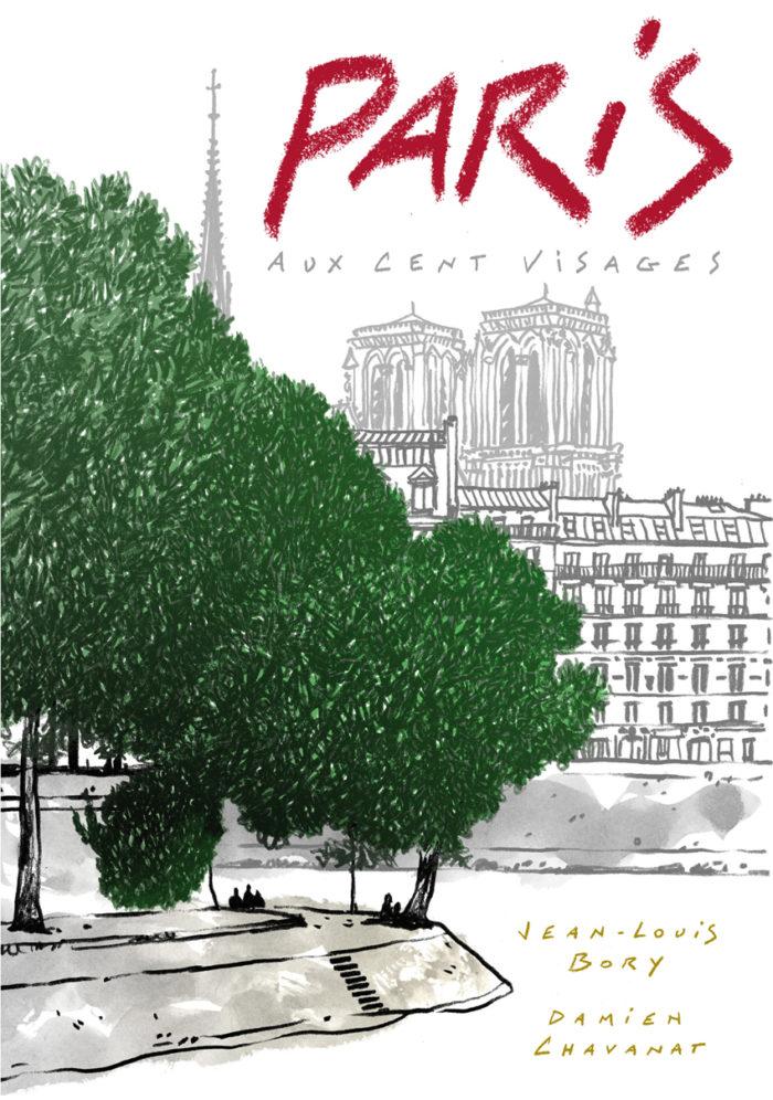 couverture de Paris aux cent visages