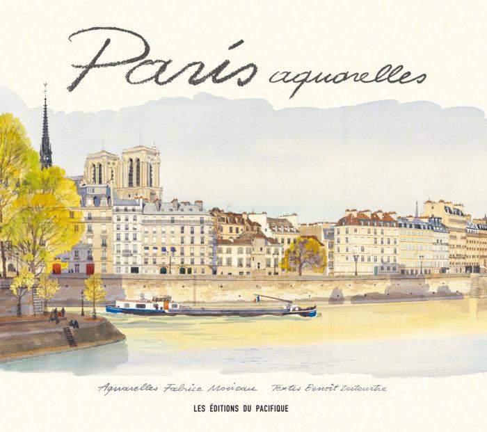 couverture de Paris aquarelles