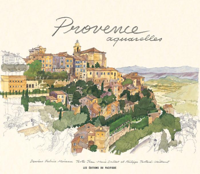 couverture de Provence aquarelles