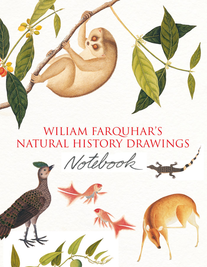 couverture de William Farquhar's Natural History Drawings Notebook